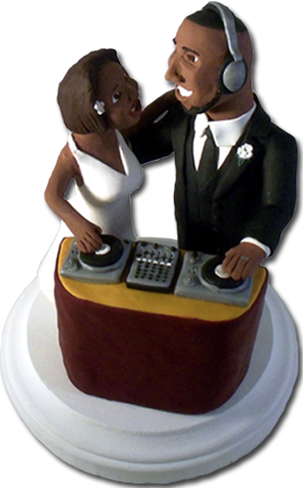 Custom Wedding Cake Toppers Right Brain Creations Home