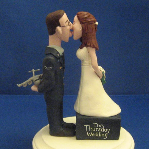 Custom Wedding Cake Toppers - Right Brain Creations - Home